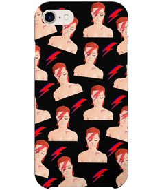 Zowie - Ken's morphed into Bowie.This Alladin Sane design is the perfect present for all you David Bowie Fans & Ken & Barbie Fans alike. Aladdin Sane, David Bowie, Pop Art, Barbie, Iphone Cases, Plastic, Cool Stuff, Funny, Design