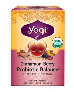 Cinnamon Berry Probiotic Balance™ | Yogi Tea | Yogi Tea