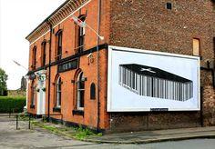Cartel del artista británico Paul Insect para Brandalism, un colectivo antipublicidad que actúa en las calles de Inglaterra