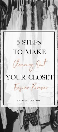 5 Steps to Make Clea