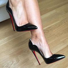 Black Sexy High Heels