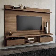 TV Wall Mount Ideas for Living Room, Awesome Place of Television, nihe and chic … – TV room – Centro Tv Unit Design, Tv Wall Design, Tv Wanddekor, Bedroom Tv Wall, Modern Tv Wall, Modern Living, Tv Stand Designs, Tv Wall Decor, Wall Tv