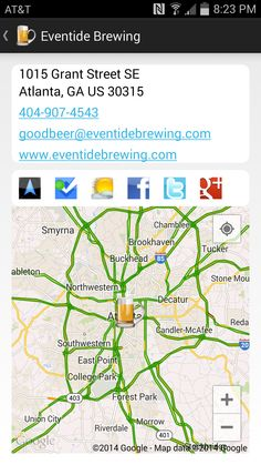 Thecompass Craft Beverage Finder Mobile Application Displays Wineries Breweries Cider Houses And Distilleries For North America