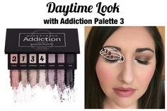 Christine's look: Addiction eye palette 3! Click the link in my bio to order. #beauty #makeup #eyeshadow
