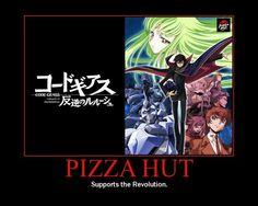 Pizza Hut | Code Geass