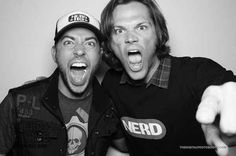 You know who else supports Nerd Machine and Nerd HQ? Zac's pal, Jared Padalecki. So there.   23 Pictures Of Zachary Levi, The Most Adorable Nerd On The Planet