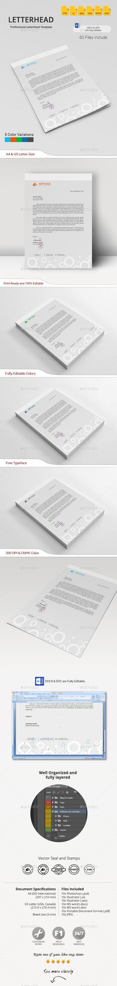 Letterhead More Letterhead, Stationery printing and Letterhead - letterhead templates download