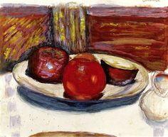 The Plate of Apples Pierre Bonnard - circa 1926