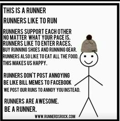 Cross Country Running Training isn't a strange thing when talking about cross country running. As the sport involves running over a wide distance, stamina contributes to a runner's performance during a cross country run and can be fortified during a. Running Humor, Running Quotes, Running Gear, Running Motivation, Running Workouts, Fitness Motivation, Disney Running, Track Quotes, Funny Running Memes