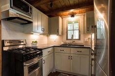 Kitchen - Retreat by Timbercraft Tiny Homes