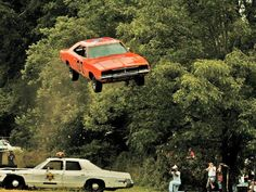 If you wanted to make a car do a successful jump back in the 1980s there was no CGI to call upon. Instead they had to add a lot more weight to the engine so that the car would be aerodynamically balanced enough to soar through the air and land properly. They'd usually have to attach between 300 and 400 pounds of ballast to get the results they wanted. The faster they went or the higher the jump the more they had to add.