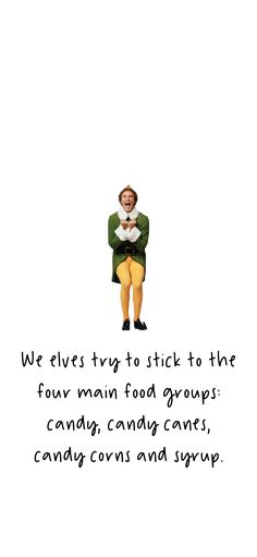 Four Main Food Groups elf iphone wallpapers - Rosa Funny Christmas Wallpaper, Holiday Iphone Wallpaper, Funny Phone Wallpaper, Holiday Wallpaper, Winter Wallpaper, Homescreen Wallpaper, Iphone Background Wallpaper, Cute Disney Wallpaper, Cool Wallpaper