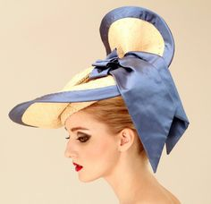 something about the graceful swirling of a wide had brim...      Soft 2011 Spring Summer Hats Collection for Womans