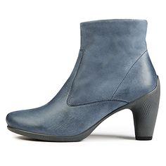 ECCO SCULPTURED 65 - Mid Cut Zip Boot, Visit http://ecco.com/facebook #eccosmile #sculptured65