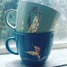 Mermaid mugs