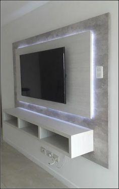 Home Design, Wall Design, Design Ideas, Design Bedroom, Design Design, Design Case, Design Trends, Graphic Design, Tv Wand Design