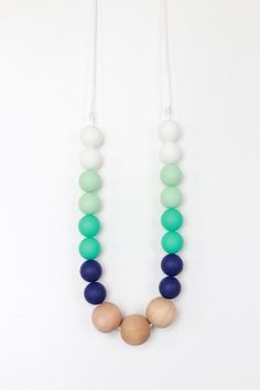 Hey, I found this really awesome Etsy listing at https://www.etsy.com/listing/241905244/teething-necklace-silicone-teething
