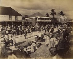Valentine and Sons - At Linstead Market, Jamaica, 1891 | by The Caribbean Photo Archive