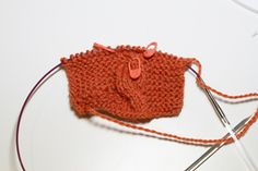 Using Stitch Markers  #knitting