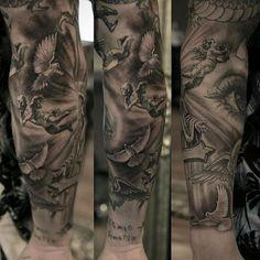 Tattoo do Marcos Mion by @stefanoalcantara e @niki23gtr