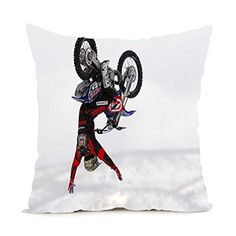 hello halo Love X-sports Extreme Sports Parachute Surfing Skiing Throw Square Zippered Pillow Case Twin Sides Home Pillow Cover - Brought to you by Avarsha.com