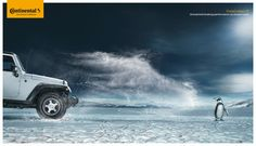 Unmatched breaking performance : Snow / Continental Creative Ad
