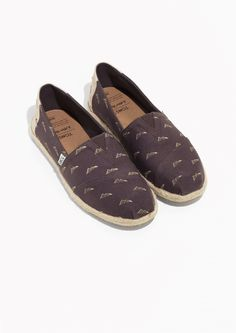 Other Stories image 2 of TOMS Pyramid Rope Sole Classics in Brown