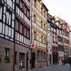 Weißgerbergasse in Nürnberg