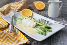 Asparagus Benedict by Against All Grain #paleo #grainfree #glutenfree