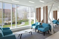 KI recently worked with the Pocono Medical Center to provide healthcare furniture to create beautiful healing spaces for patients, family and staff. #Lyra