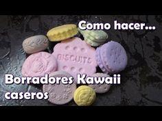 Como hacer borradores Kawaii caseros - YouTube