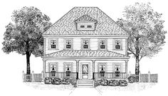 Eplans Country House Plan Radiates Family Values  Square Feet And  Bedrooms