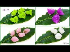 ЦВЕТЫ ИЗ ОРГАНЗЫ, МК / DIY Magic Organza Flowers - YouTube