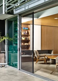 Centor screens allow folding doors to be left open more often increasing ventilation and reducing air-conditioner use. | Centor Integrated Doors ... & Centor screens allow folding doors to be left open more often ... pezcame.com