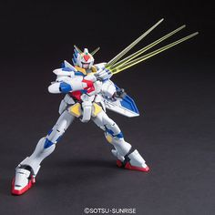 1/144 HG GPB-X80 Beginning Gundam | Gundam Build Fighters Animé | Military Sci-Fi Mecha Scale Model