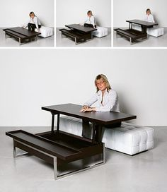 I Love Convertible Furniture, And This Would Also Work For Eating On The  Couch. Coffee Table DeskLift Top ...