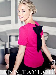 kate hudson fashion | kate-hudson-fashion-pink-black-bow-ann-taylor6-e1354819011568.jpg