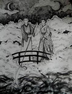 Izanagi and Izanami by LazyYukki.deviantart.com on @DeviantArt