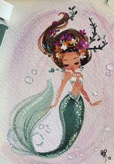 How I see myself as a beautiful mermaid (: