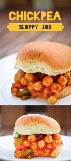 Chickpea Sloppy Joe: A Vegan Version of a Classic. Ready in 15 minutes