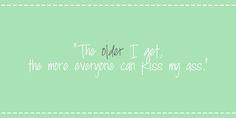 waarom ouder worden leuk is?
