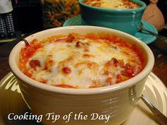 Cooking Tip of the Day: Lasagna Soup