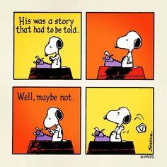 A Story by Snoopy