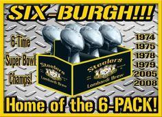 Super Bowl Champs X 6