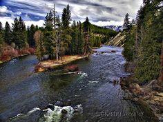 Wenatchee River, Washington.