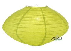 "16"" Chartreuse Saturn Paper Lantern by Asian Import Store, Inc.. $4.50. This Saturn paper lantern has a unique UFO shape.. Lantern is held open with a wire expander.. Dimensions: 16"" dia x 9""H. (All lanterns sold without lighting, lighting kits must be purchased separately). This Saturn paper lantern has a unique UFO shape. Lantern is held open with a ""C"" hook expander.  Dimensions: 16"" dia x 9""H  (All lanterns sold without lighting, lighting kits must be purchased separately)"