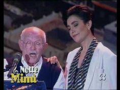 """♫ Mia Martini e Roberto Murolo ♪  """"Cu'mmè"""", duetto ♫  Che meraviglia u core e Napule,u core e Murolo  e Mia !!!!!!!!!!!!!!!!!!!!  Dolci ed INDIMENTICABILI,GRAZIE PER QUESTA EMOZIONE INFINITA !!!""""Azzurro 1992"""" ♫"""