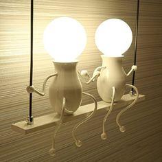Applique-murale-pour-enfants-salon-cratif-simple-chambre–coucher-lampe-de-chevet-couloir-vier-lampe-de-balcon #LampDeChevet