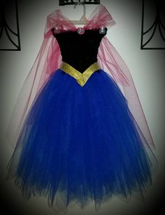 Frozen Anna Dress (Dress only in this listing)