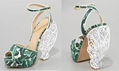 Garden gate victorian style  do you think they will bend under weight?  Charlotte Olympia Avalon